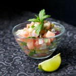 Mint and Watermelon Salsa