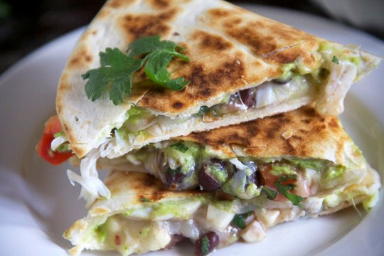 Lump Crap and Avocado Quesadilla 2