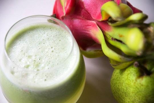 Dragon Fruit Pear Juice