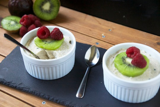 Raw Coconut Passionfruit Pudding6
