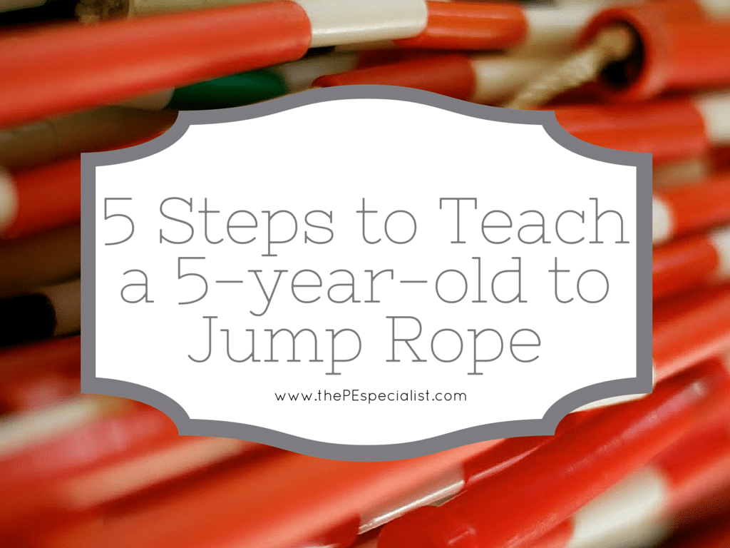 5 Steps to Teach a 5-year-old to Jump Rope