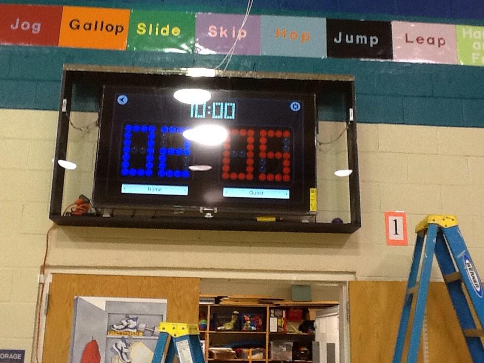 How To Setup A Tv In A Gym For Pe Class
