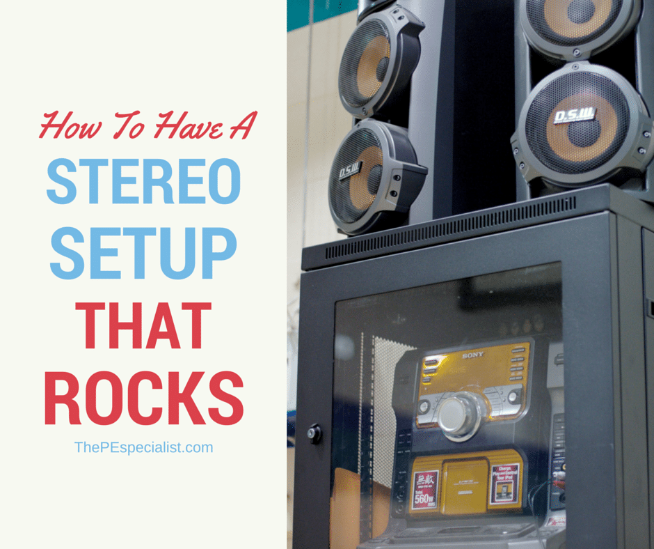 How to Setup a Stereo in Your Gym