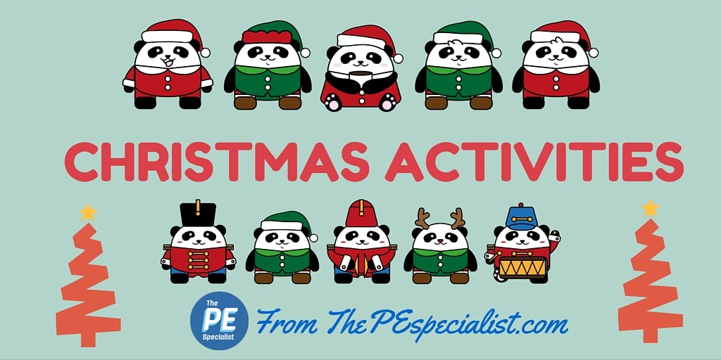 PE Games – Christmas Activities