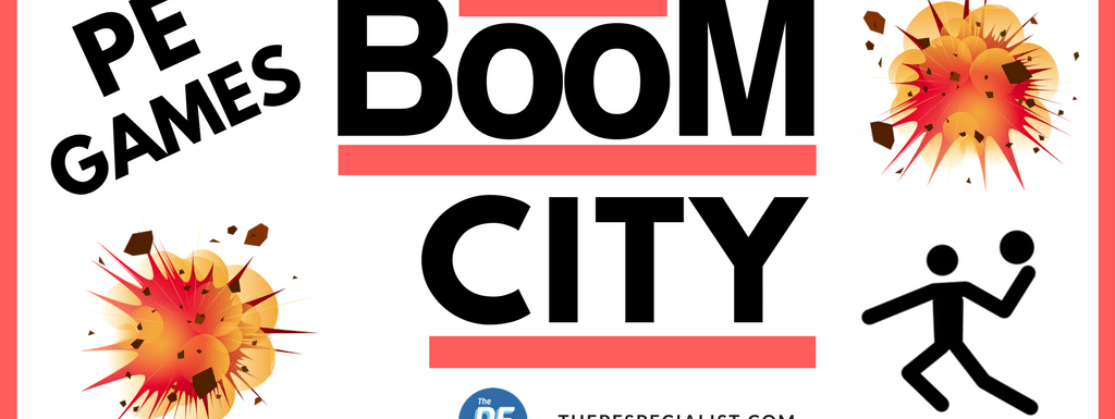 PE Games: Boom City | A Fun Throwing Activity |