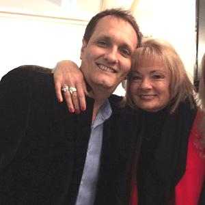 Peter Diaz with Paula Duncan