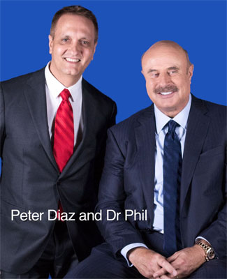 Peter Diaz with Dr Phil McGrew