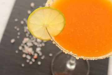 Mango Margarita cocktail recipe by The Petite cook