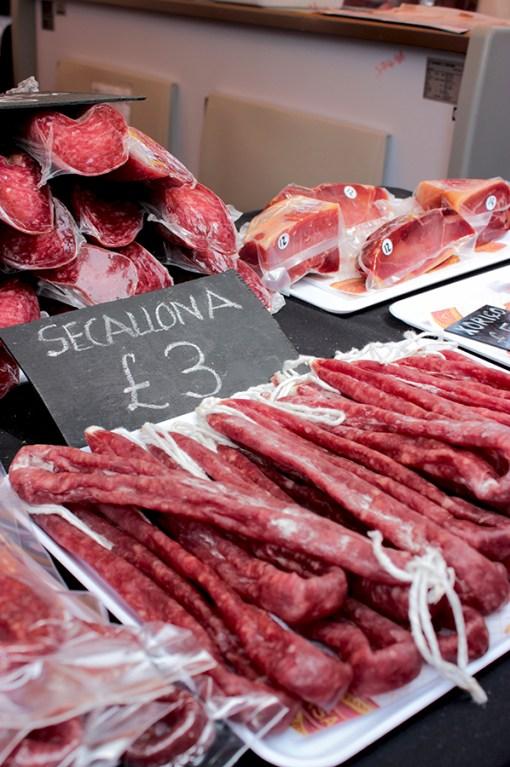 SSpanish chorizo sausage, Streets of Spain London