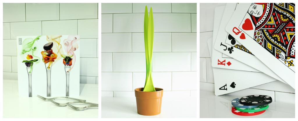 1.Aroma R-evolution, Lakeland 2. Black+Bum Salad Plant, Amazon 3. Casino dining set, Lakeland. Christmas foodie gift guide The Petite Cook