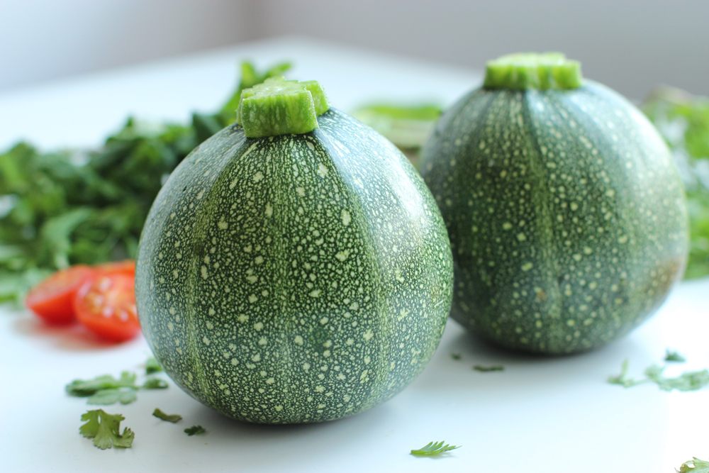 stuffed zucchini with turkish couscous salad the petite cook the petite cook. Black Bedroom Furniture Sets. Home Design Ideas