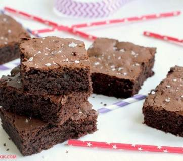 Fudgy and rich, made with only fresh wholesome ingredients, these gluten-free and dairy-free brownies have a super healthy secret ingredient you never thought of: avocado. Recipe from thepetitecook.com