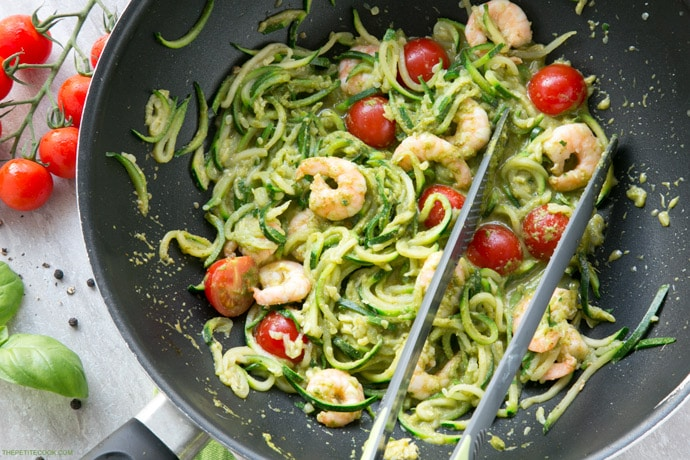how to cook zucchini noodles on stove
