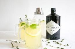 A bright and tangy mix of gin, lemon and aromatic herbs, combine all together to make this refreshing Gin Lemon that is perfect all-year round. Recipe from thepetitecook.com