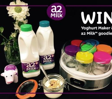Win 100£ worth in prizes including a2Milk products and a yogurt maker! Enter the giveaway before the 4th December 2016 for your chance to win.