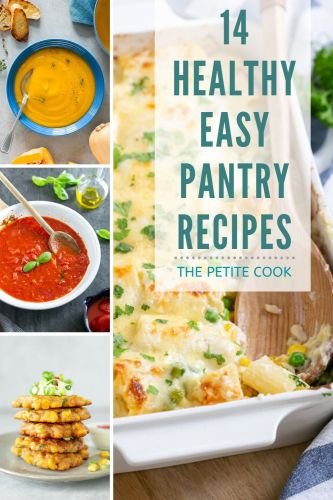 14 easy pantry recipes