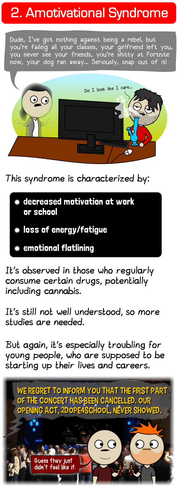 cannabis amotivational syndrome