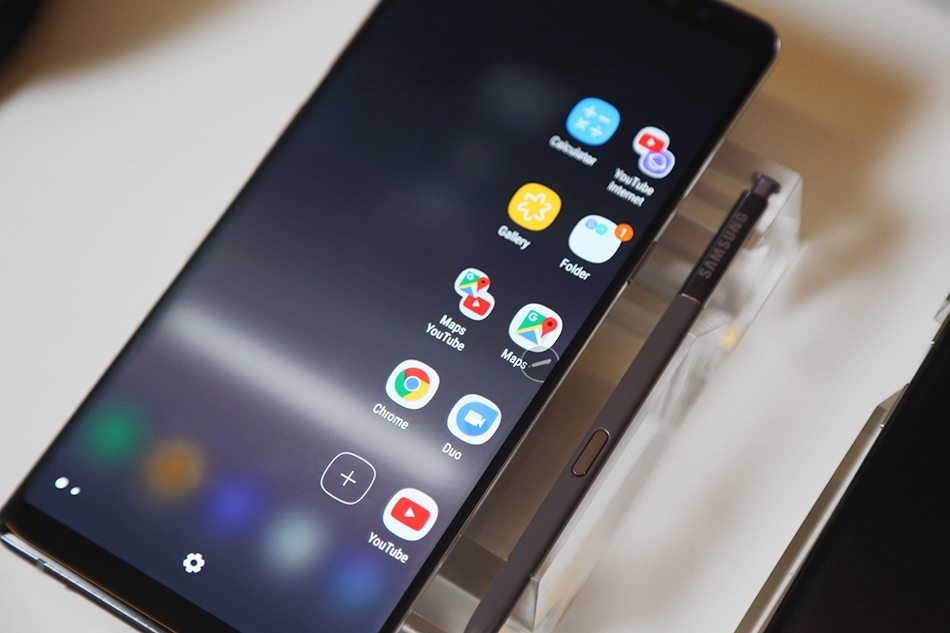 Samsung Galaxy Note 8 Hands-on images features
