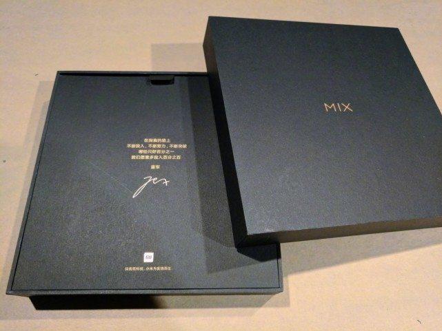 Real Xiaomi Mi MIX 2 boxing 1