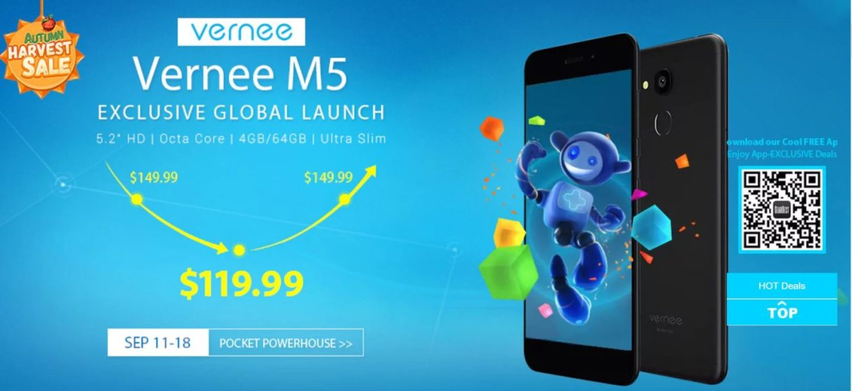 Vernee M5 Global Launch