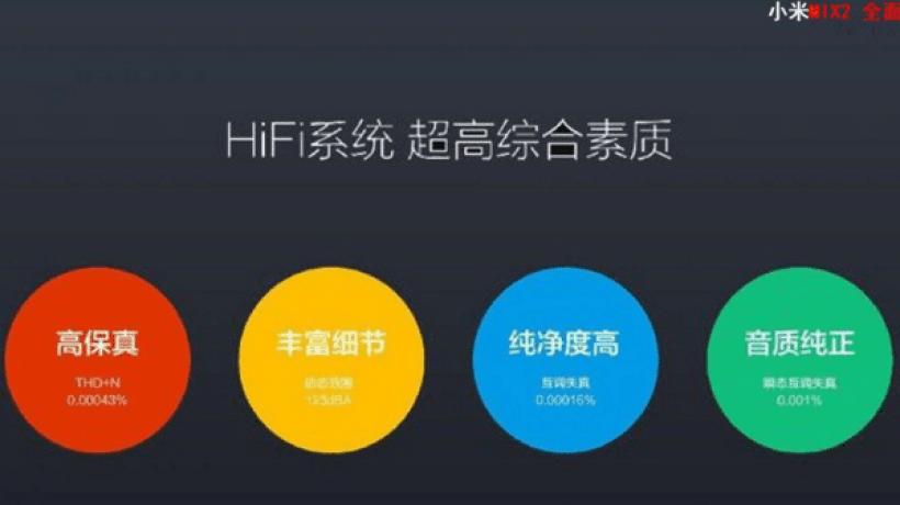 Xiaomi Mi MIX 2 conference slides – 8