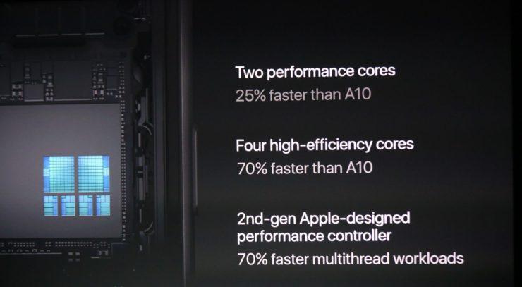 Apple A11 SoC specs