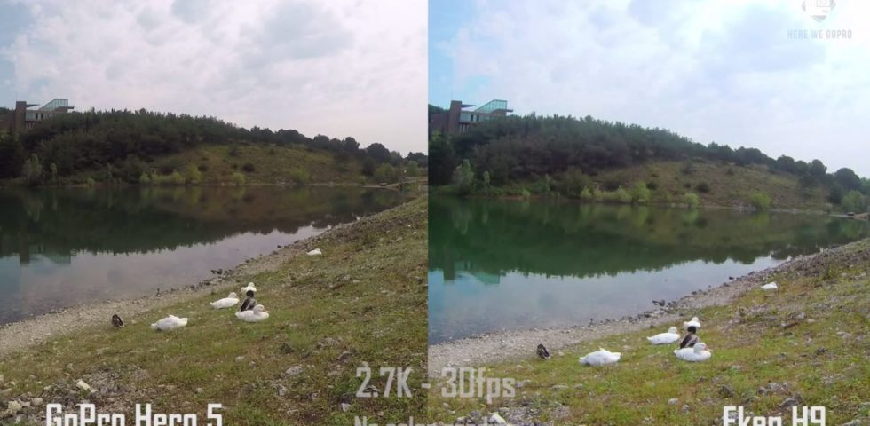 eken h9r 4k action camera – compare with go pro 5 2