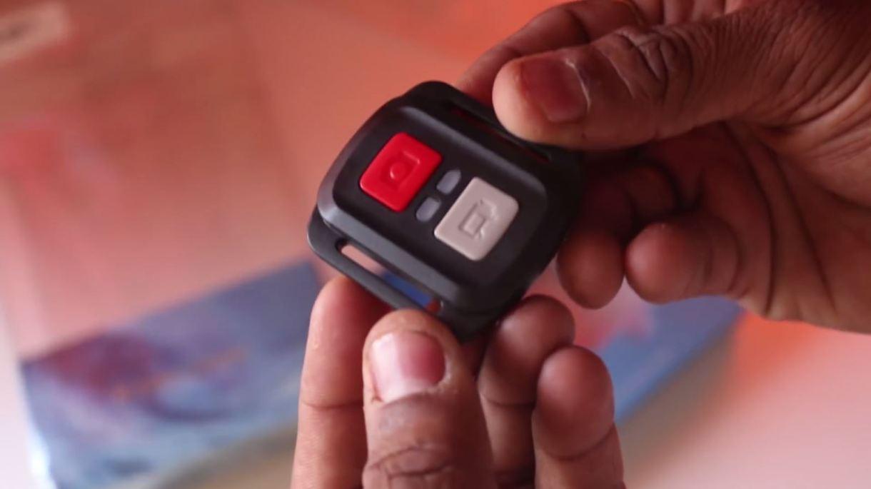 eken h9r 4k action camera - remote control