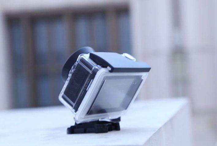 Furibee H9R 4K Action Camera - side