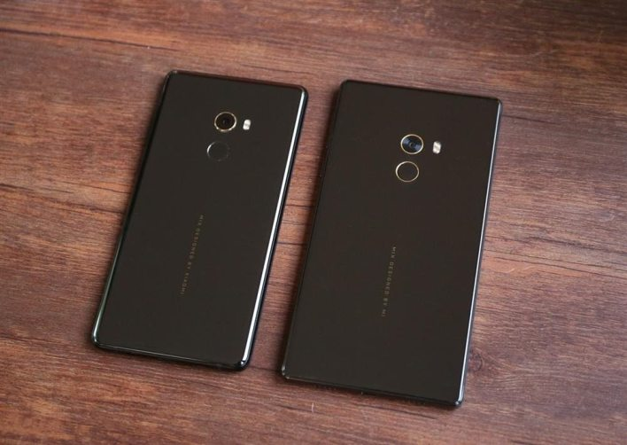 Xiaomi Mi MIX 2 Vs Xiaomi Mi MIX - rear