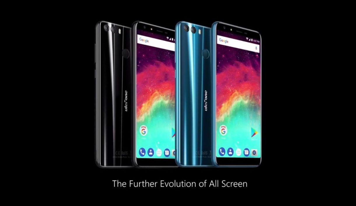 Ulefone MIX 2 Preview - colors