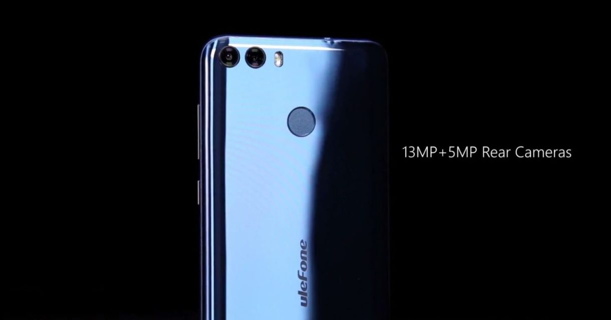 Ulefone MIX 2 Preview - rear camera