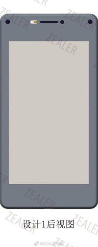 Xiaomi Mi MIX 3 Price, Specs, Design Leaked – Prototype back