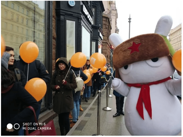 Xiaomi Mi Store Opened in Moscow Russia