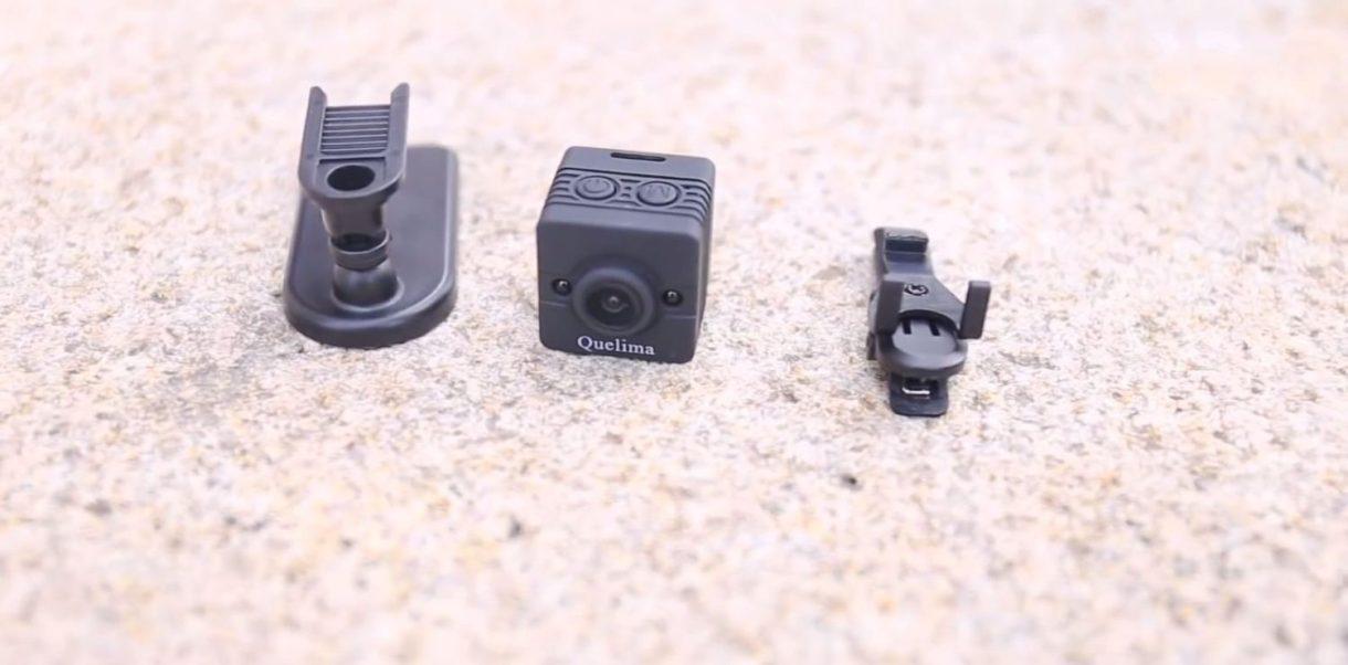 Quelima SQ12 Mini DVR Review - accessories