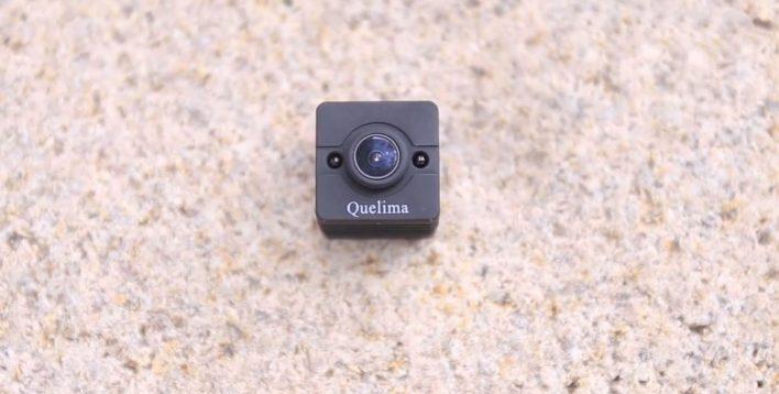 Quelima SQ12 Mini DVR Review - front