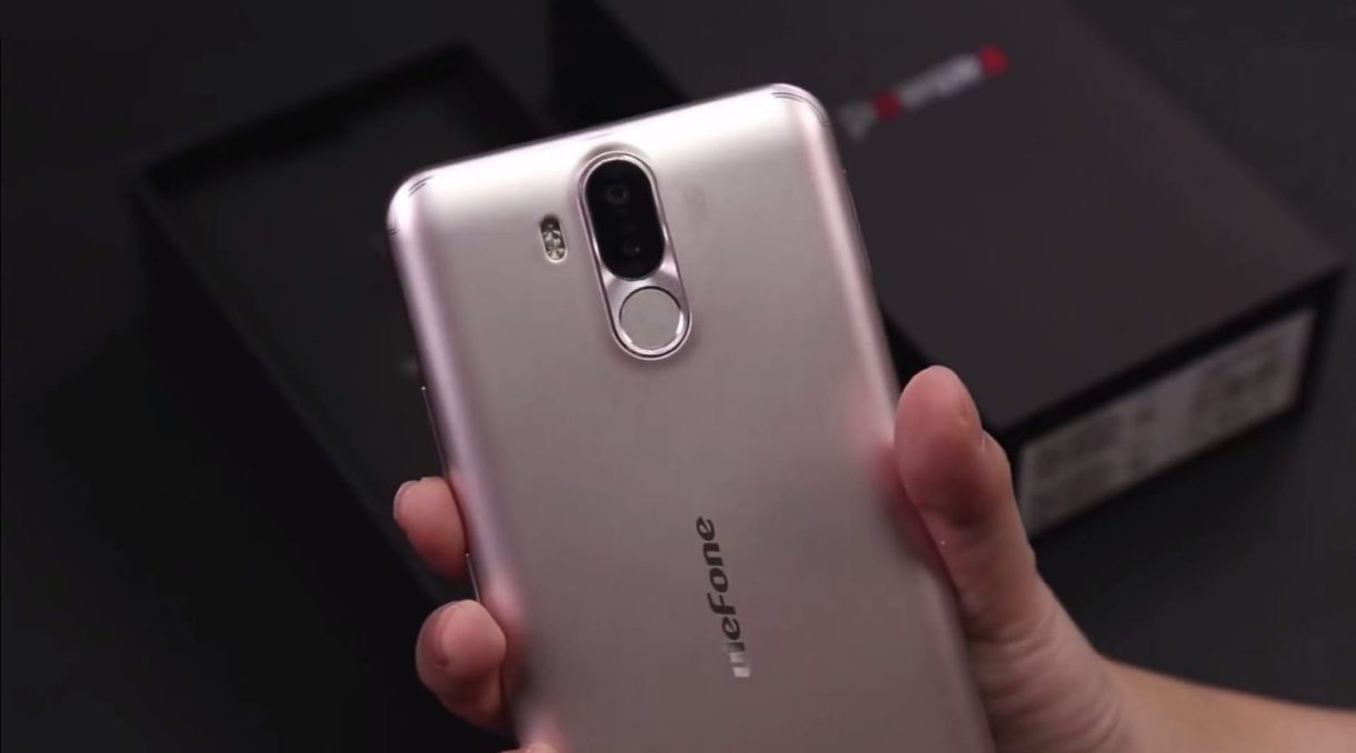 Ulefone Power 3 Preview - back