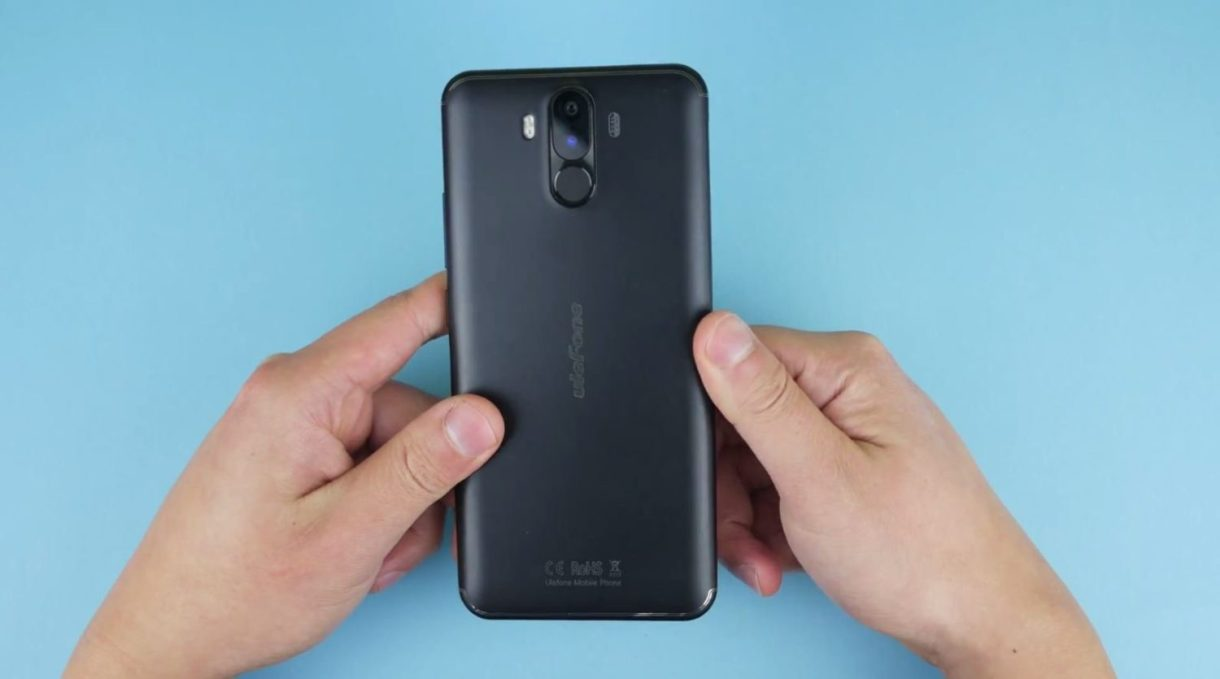 Ulefone Power 3 Preview - rear