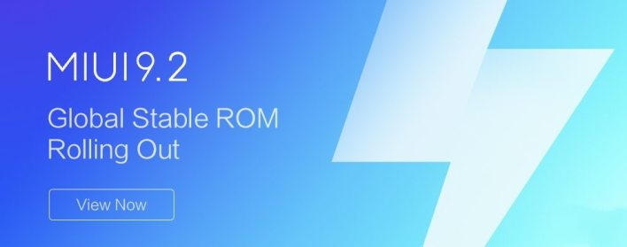 MIUI 9.2 Global Stable ROM