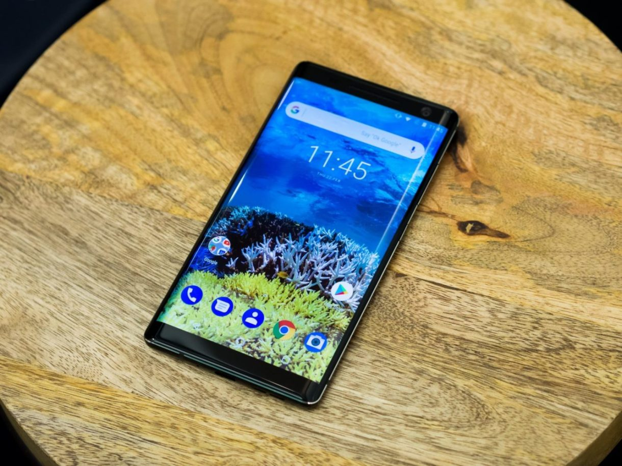 Nokia 8 Sirocco released hands-on