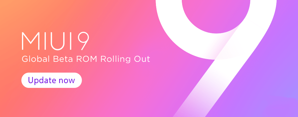 MIUI 9 Global Beta ROM 8.3.8 hits