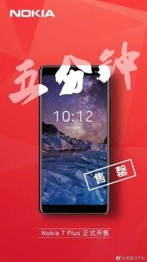 Nokia 7 Plus First Sale 1