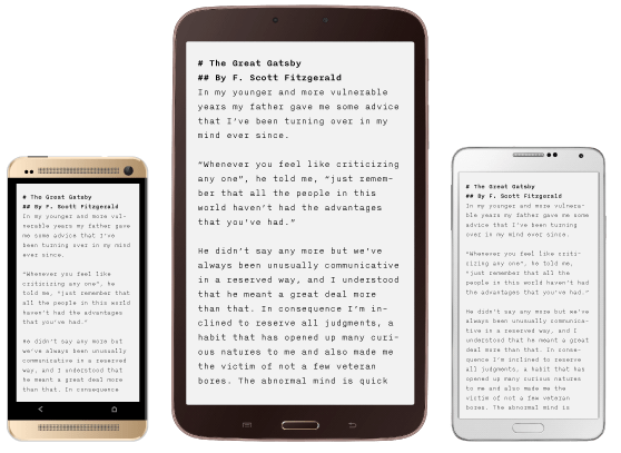 5 Best Writing Apps For Writing on iPad in 2018-iA-Writer