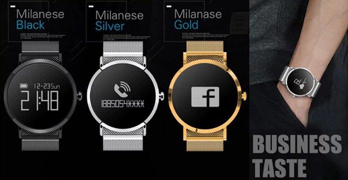 CV08 Smart Bluetooth Sport Watch colors