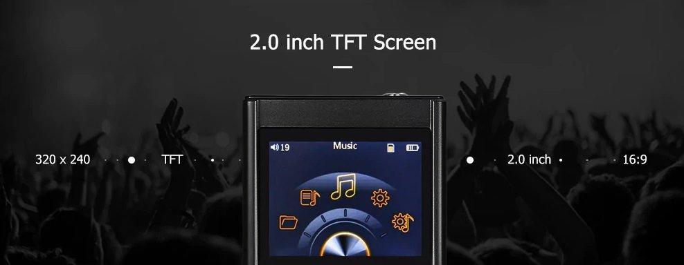Crazier R3 HiFi MP3 Music Player display