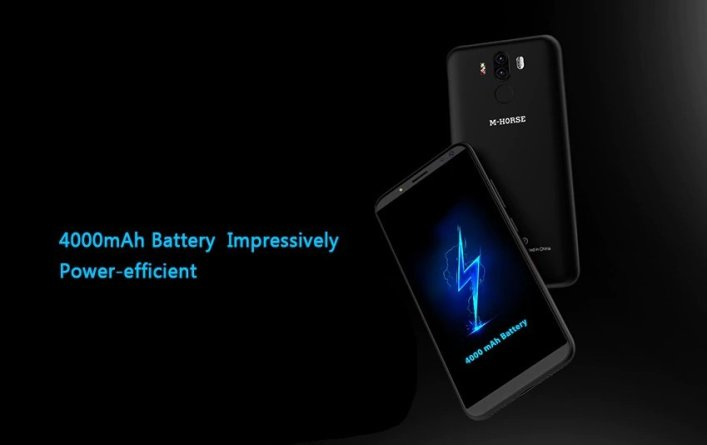 M-Horse Pure 3 4G Phablet battery