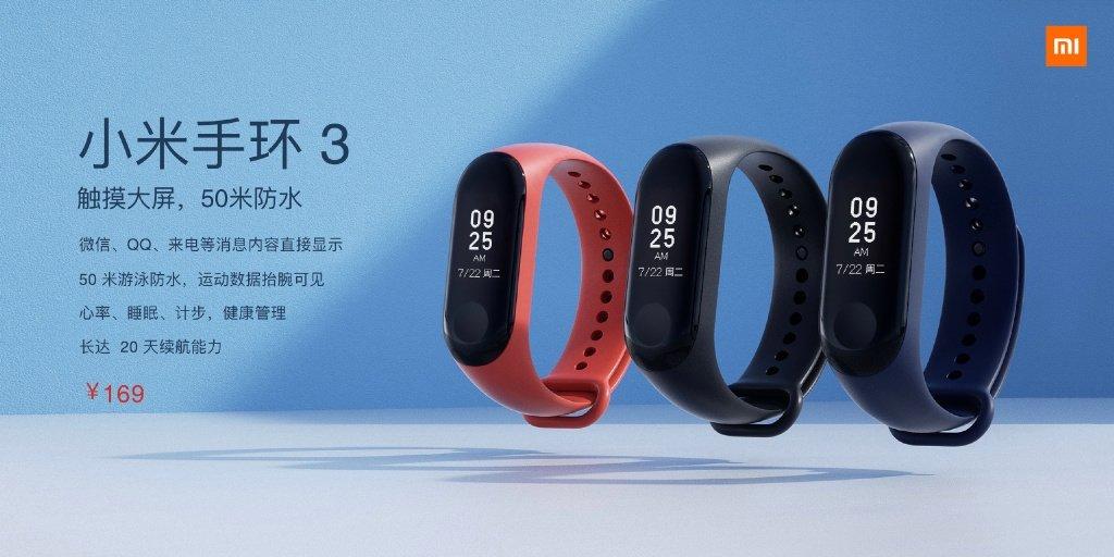 Xiaomi Mi Band 3 price