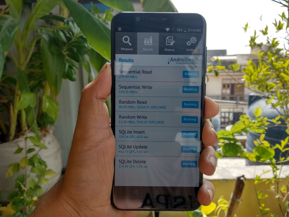 ASUS Zenfone Max Pro M1 Review - AndroBenck Test