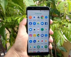 ASUS Zenfone Max Pro M1 Review – App menu