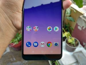 ASUS Zenfone Max Pro M1 Review - On screen buttons